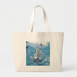Sleeping Beauty's Castle Large Tote Bag