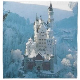 Sleeping Beauty's Castle Napkin