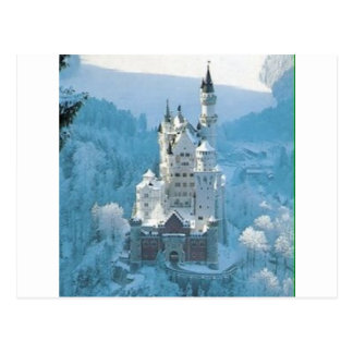 Sleeping Beauty's Castle Postcard