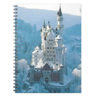Sleeping Beauty's Castle Spiral Notebook