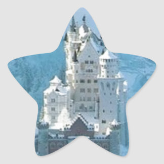 Sleeping Beauty's Castle Star Sticker