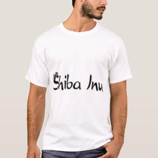 Sleeping Black & Tan Shiba Inu T-Shirt
