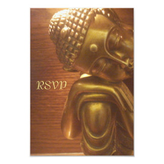 Sleeping Buddha 9 Cm X 13 Cm Invitation Card