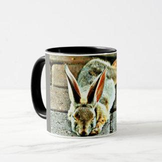 Sleeping Bunny Coffee Mug