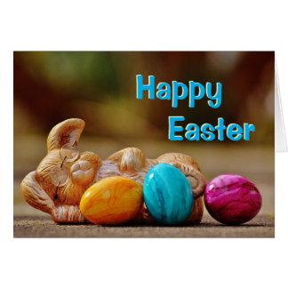 Sleeping Bunny Easter Card
