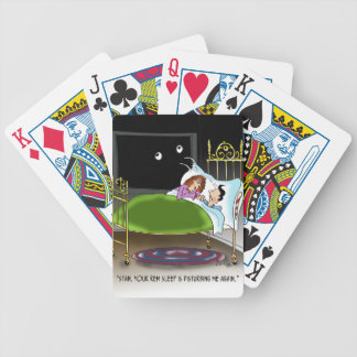 Sleeping Cartoon 9375 Poker Deck