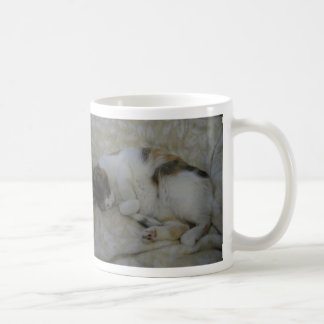 Sleeping Cat - It's too early... Coffee Mug