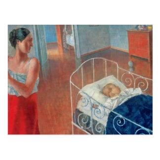 Sleeping Child, 1924 Postcard