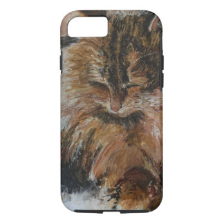 Sleeping Cool Cat iPhone 8/7 Case