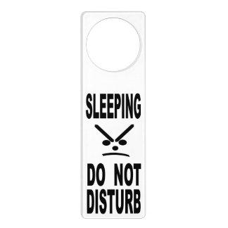 Sleeping Do Not Disturb Door Hanger