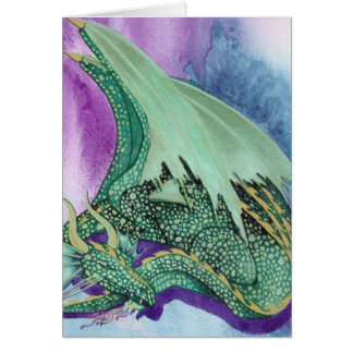 sleeping dragon card