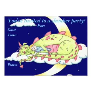 Sleeping Dragon Invitation