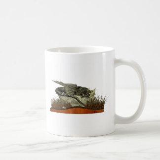 Sleeping Dragon on a Rock Mug