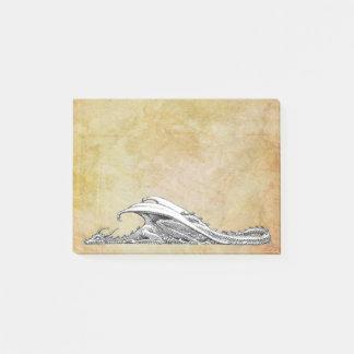 Sleeping Dragon Post-it Notes