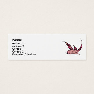 Sleeping Dragonette (Red) Profile Cards