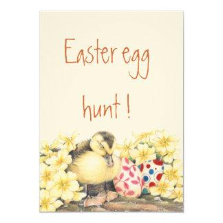 """Sleeping Ducky Easter"" Invitation"