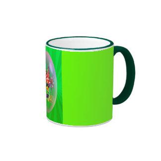 SLEEPING ELF & LIGHT RAYS by SHARON SHARPE Coffee Mugs