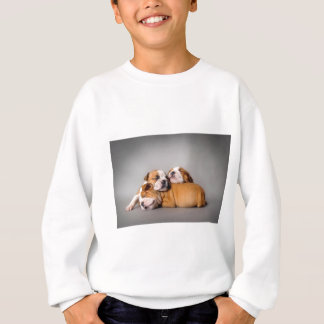 Sleeping English bulldog Sweatshirt