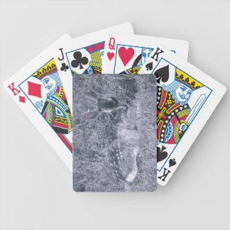 Sleeping Fawn Bicycle Playing Cards