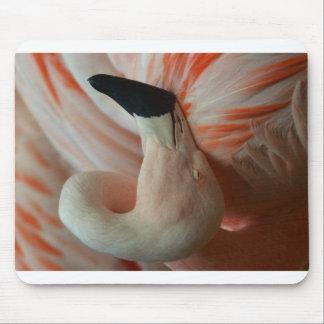 Sleeping Flamingo Mouse pad