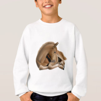 Sleeping Foal Kids Sweatshirt