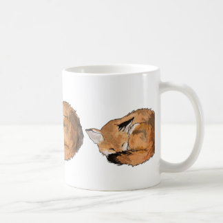 Sleeping Fox Coffee Mug