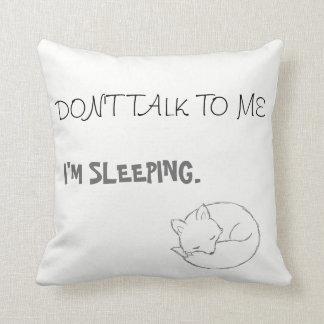 Sleeping Foxy Pillow