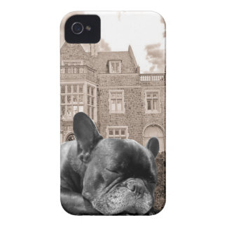 Sleeping French Bulldogs Case-Mate iPhone 4 Cases