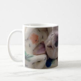 Sleeping Frenchie Mug