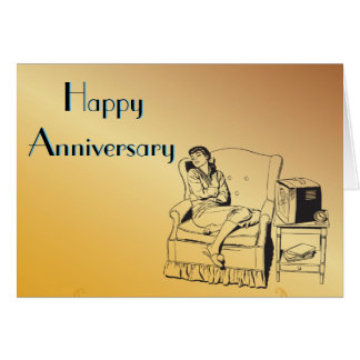 Sleeping Girl Anniversary Celebration Art Template