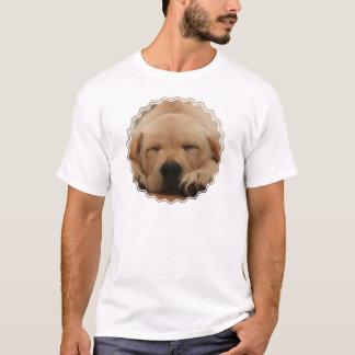 Sleeping Golden Retriever Men's T-Shirt