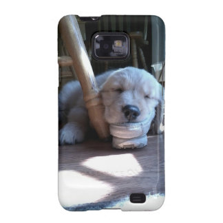 Sleeping Golden Retriever Puppy Samsung Galaxy Cover