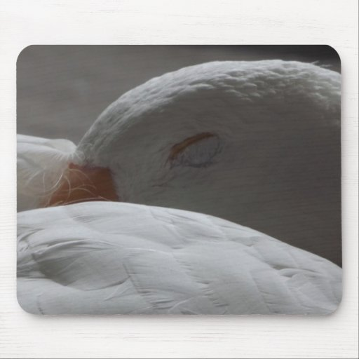 Sleeping Goose Mouse Pads