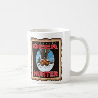 SLEEPING GUN HUNTER COFFEE MUG