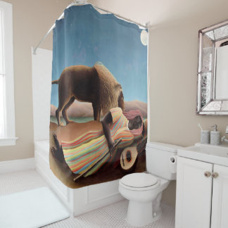 Sleeping Gypsy Shower Curtain
