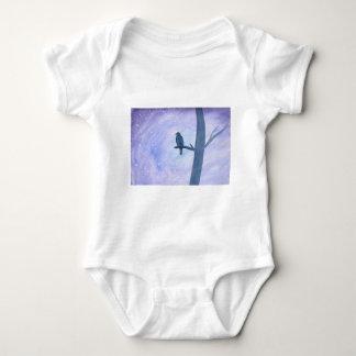 Sleeping Hawk Baby Bodysuit