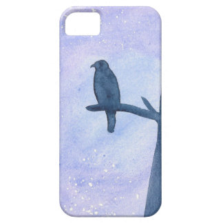 Sleeping Hawk iPhone 5 Cover