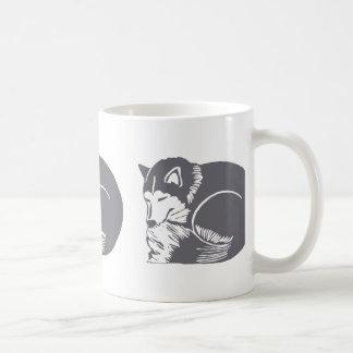 Sleeping Huskies Mug Drinkware