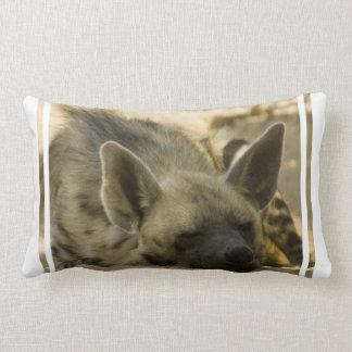 Sleeping Hyena Pillow