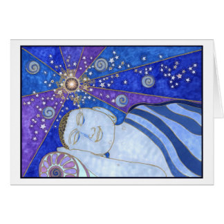 Sleeping in Peace and Light Card