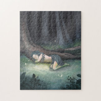 Sleeping in the Woods Jigsaw Puzzle