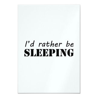 Sleeping Personalized Invites