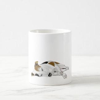 Sleeping Jack Russell Coffee Mug