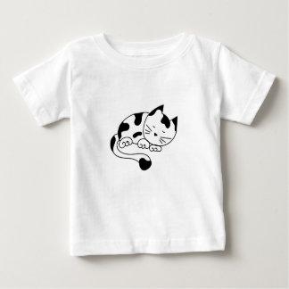 Sleeping Kitten Baby T-Shirt