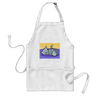 Sleeping Kitty Standard Apron