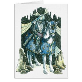 Sleeping Knight Card