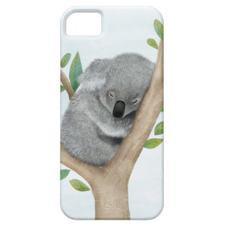 Sleeping Koala Bear iPhone Case