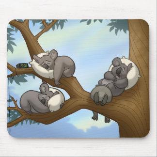 Sleeping Koala Mousepad