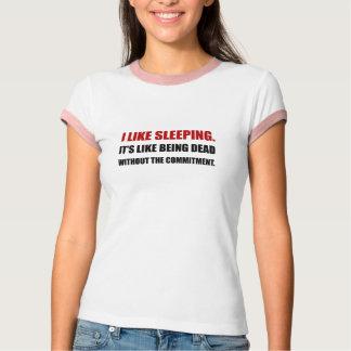 Sleeping Like Dead Commitment T-Shirt