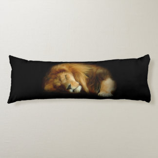 Sleeping Lion Body Pillow